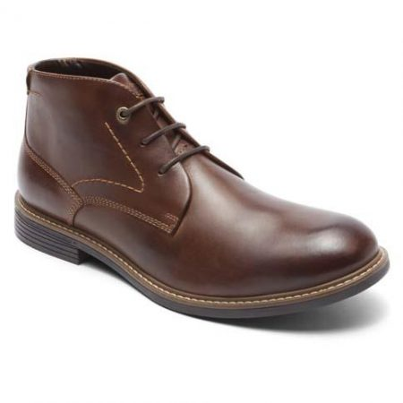 v81656 CLASSIC BREAK CHUKKA DARK BROWN LEATHER